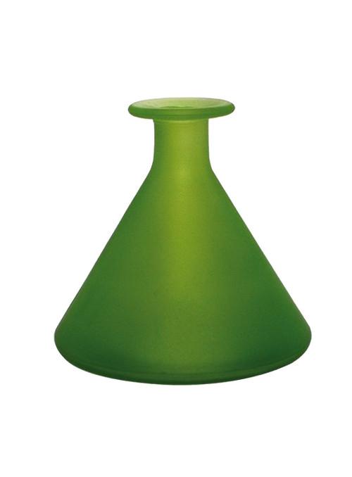 Vase Triangle Dépoli - ROUGE