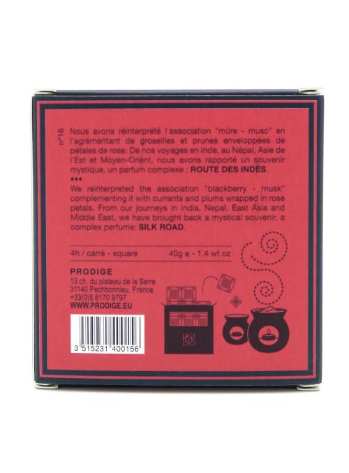 Cire parfumée ROUTE DES INDES (Mûre, Musc)