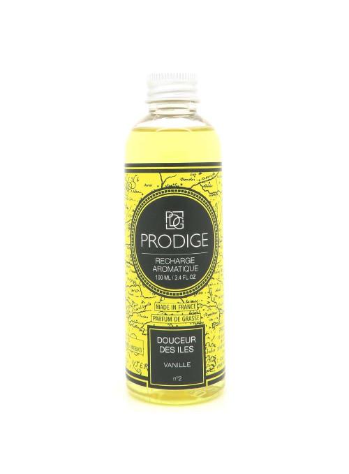 Diffuseur de parfum Recharge DOUCEUR DES ILES (Vanille)