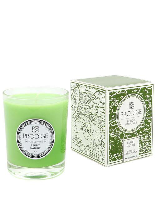 Bougie parfumée ESPRIT NATURE (Bambou, notes vertes)