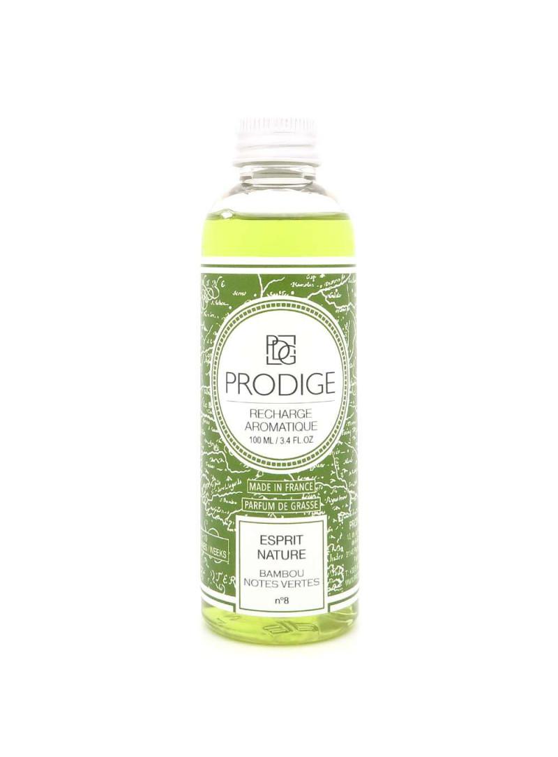 Diffuseur de parfum Recharge ESPRIT NATURE (Bambou, notes vertes)