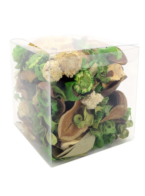 Pot pourri boite ESPRIT NATURE (Bambou, notes vertes)