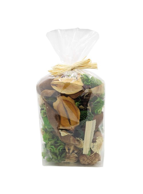 Pot pourri sachet ESPRIT NATURE (Bambou, notes vertes)