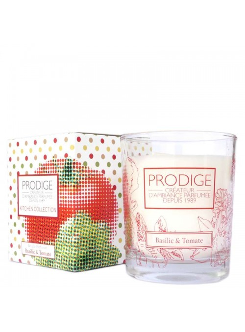 Scented Candle BASIL & TOMATO