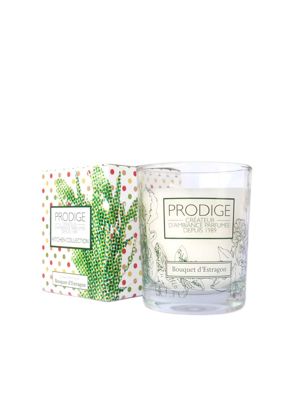 prodige collection kitchen x candle tarragon bouquet. Black Bedroom Furniture Sets. Home Design Ideas