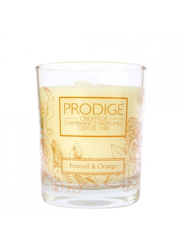 Scented Candle FENNEL & ORANGE