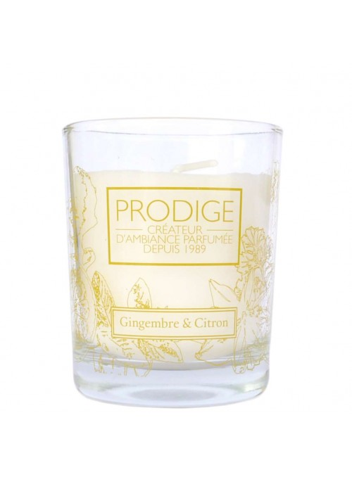 Scented Candle GINGER & LEMON