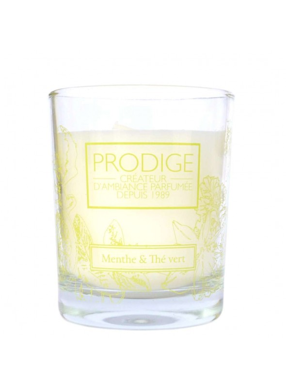 Scented Candle MINT & GREEN TEA