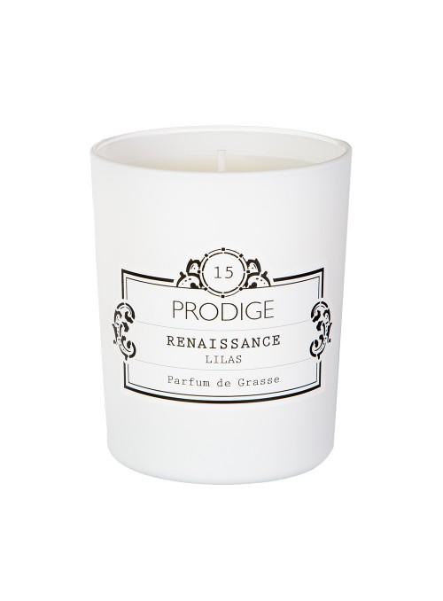 Scented Candle RENAISSANCE (Lilac) 190gr