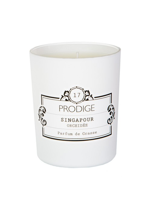 Scented Candle SINGAPORE (Orchid) 190gr