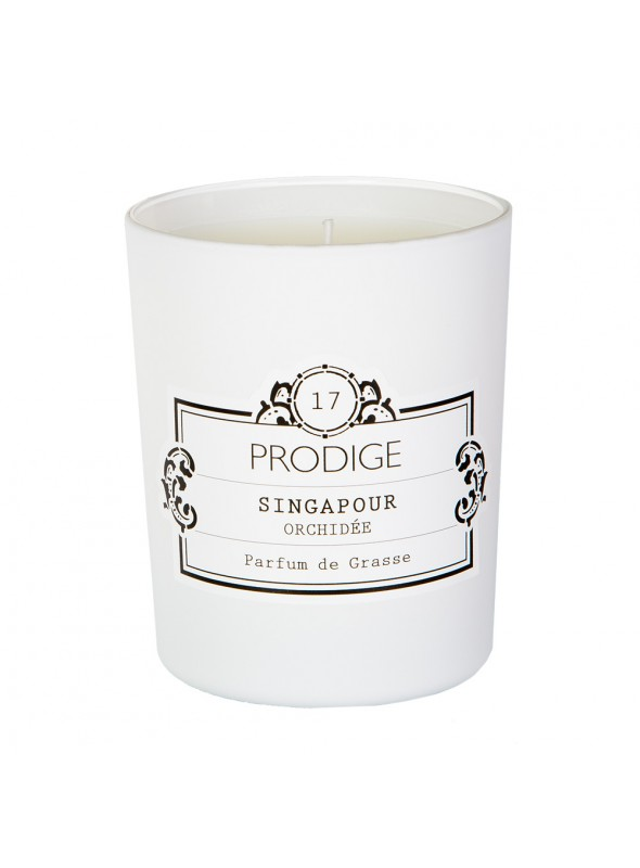 Scented Candle SINGAPORE (Orchid)