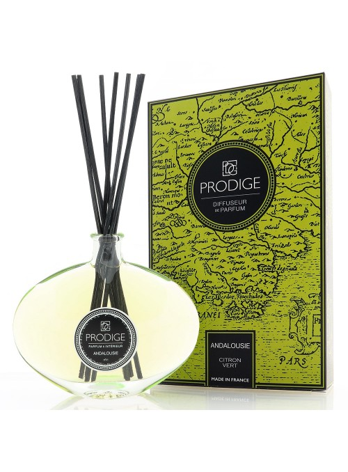 Reed Diffuser ANDALUSIA (Lime) Sabina