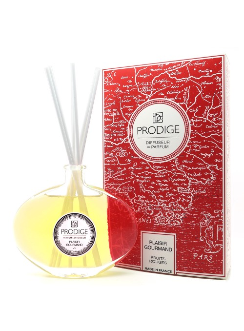 Diffuseur de parfum PLAISIR GOURMAND (Fruits rouges) Sabina