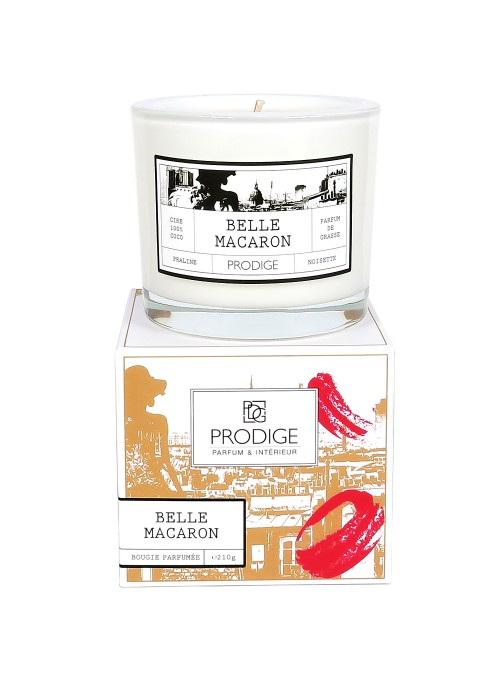 Scented Candle BELLE MACAROON