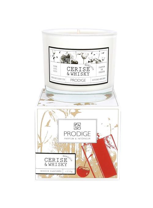 Bougie parfumée CERISE MARASCA ET WHISKY