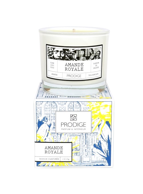 Bougie parfumée AMANDE ROYALE