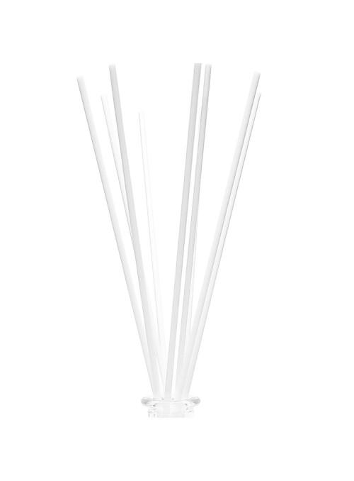 Bâtonnets diffuseur de parfum FIBRE BLANC 20cm