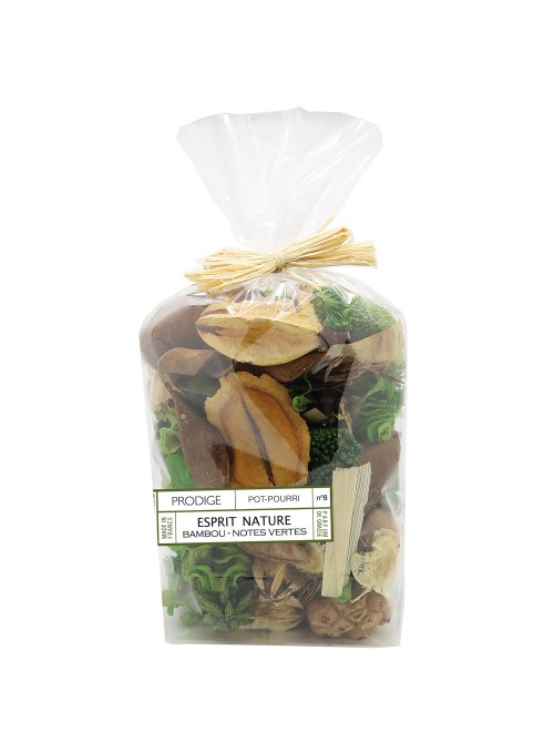 Potpourri Sachet PANGAEA (Bamboo, Green notes)
