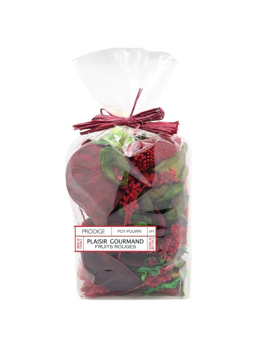 Pot pourri sachet PLAISIR GOURMAND (Fruits rouges)
