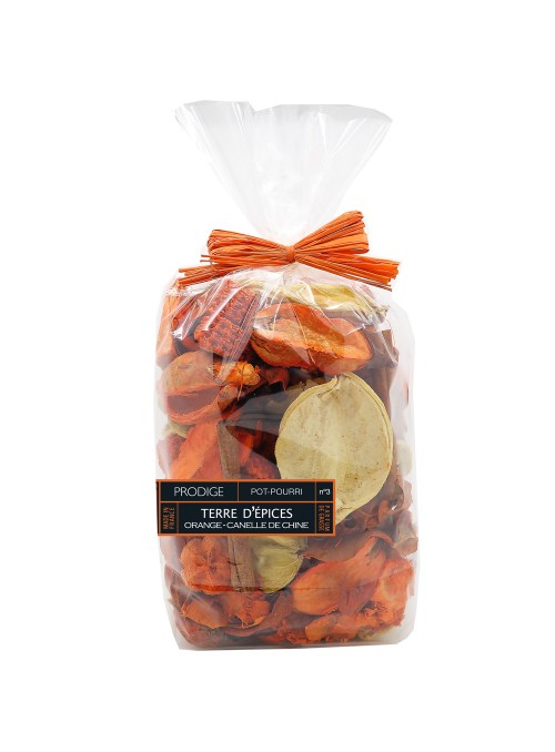 Potpourri Sachet EARTH SPICE (Orange, Chinese Cinnamon)