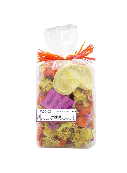 Pot pourri sachet VAHINE (Monoï, Fruit de la passion)