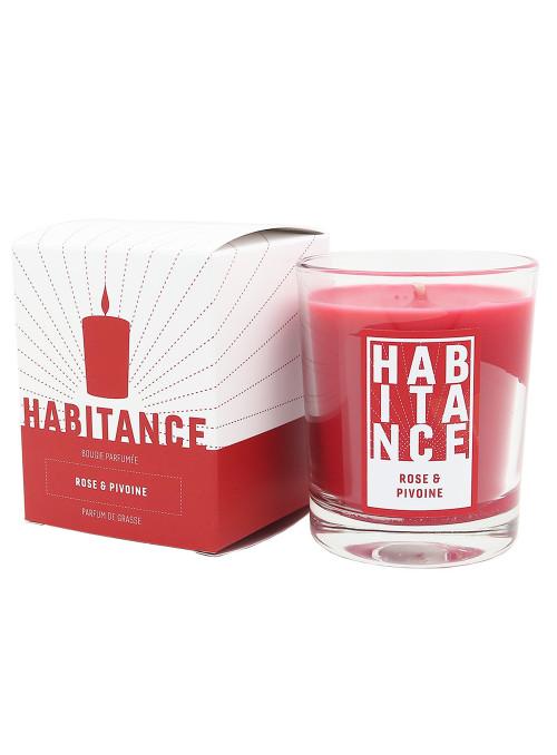 Bougie parfumée Rose Pivoine 150gr