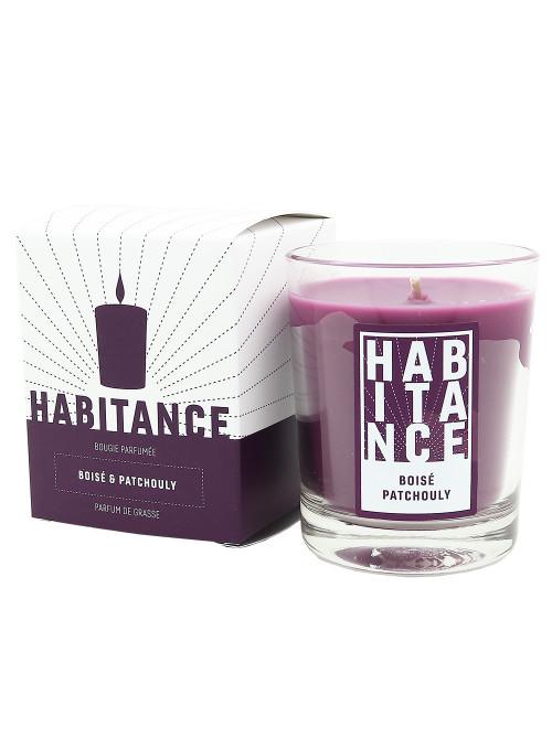 Bougie parfumée Boisé Patchouli 150gr