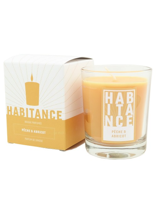 Scented Candle PARADISE GROVE (Peach, Abricot)