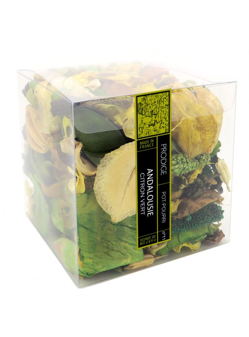 Pot pourri boite ANDALOUSIE (Citron Vert)