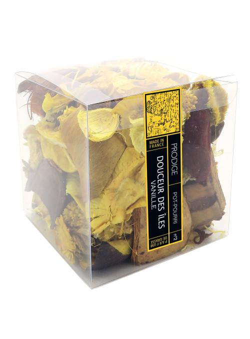Pot pourri boite DOUCEUR DES ILES (Vanille)