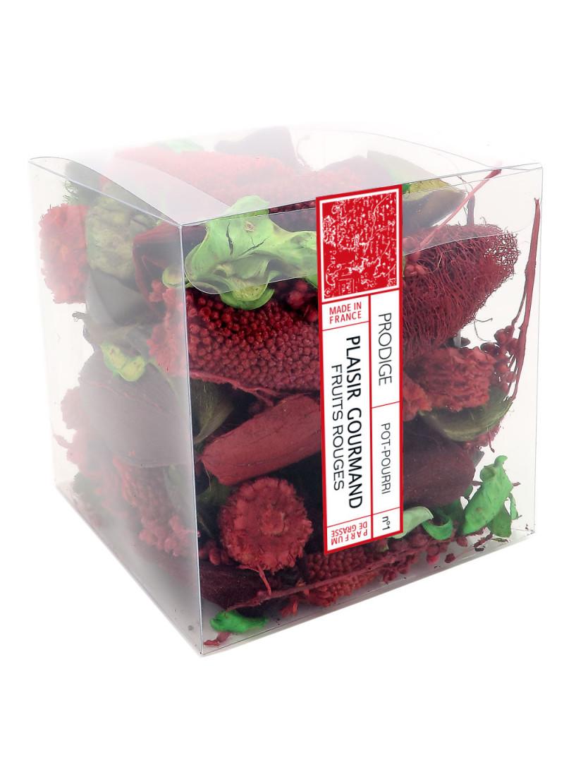 Pot pourri boite PLAISIR GOURMAND (Fruits rouges)