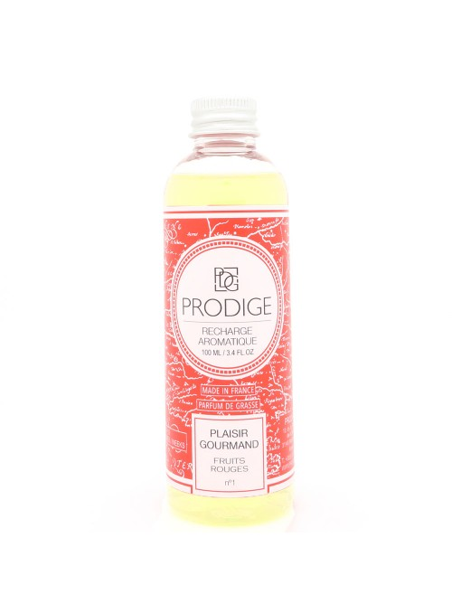 Recharge PLAISIR GOURMAND (Fruits rouges) 100ml