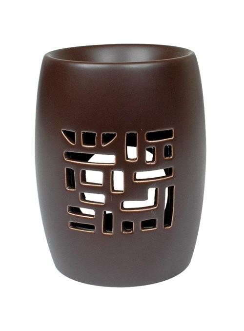 Brûle-Parfum - TREILLIS brun
