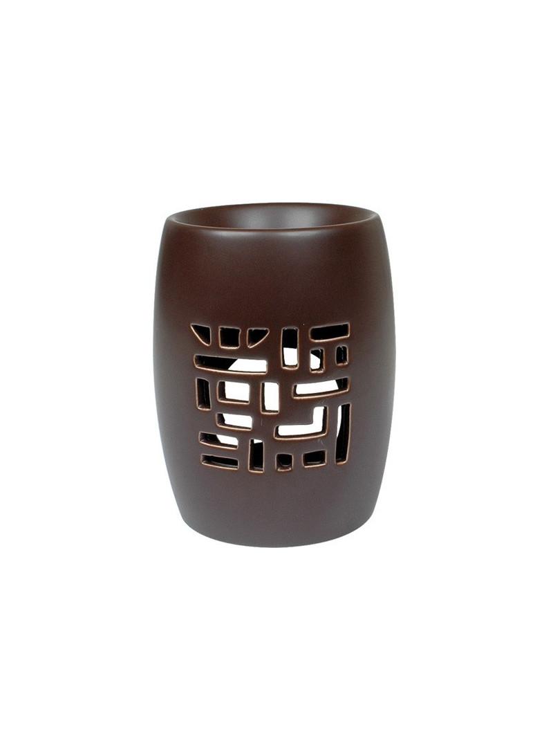 Oil-burner Ceramic - LATTICE brown