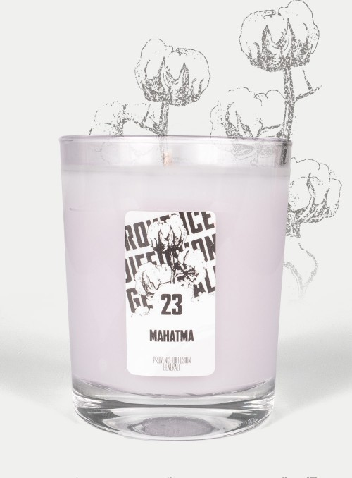 Scented Candle MAHATMA (Cotton flower) 150gr