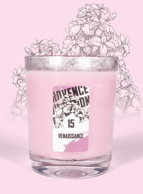 Scented Candle RENAISSANCE (Lilac) 150gr