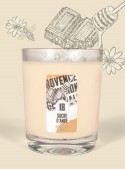 Scented Candle CANDY CANE (Honey, Chocolate) 150gr