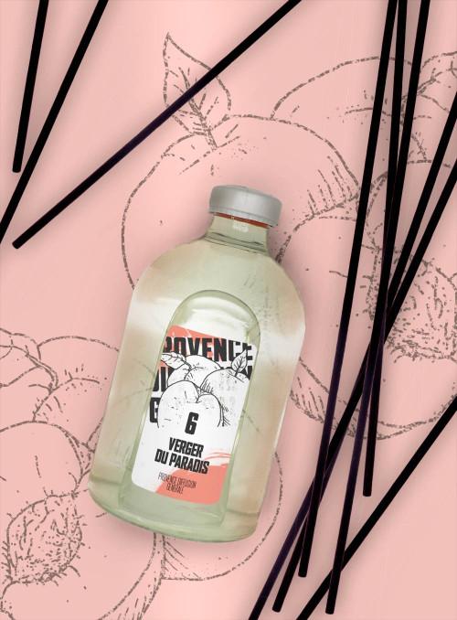 Reed Diffuser PARADISE GROVE (Peach, Abricot) 100ml