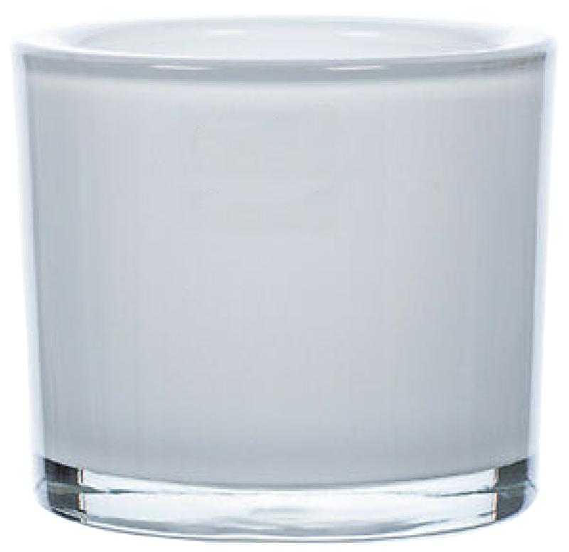 verre laque blanc brillant