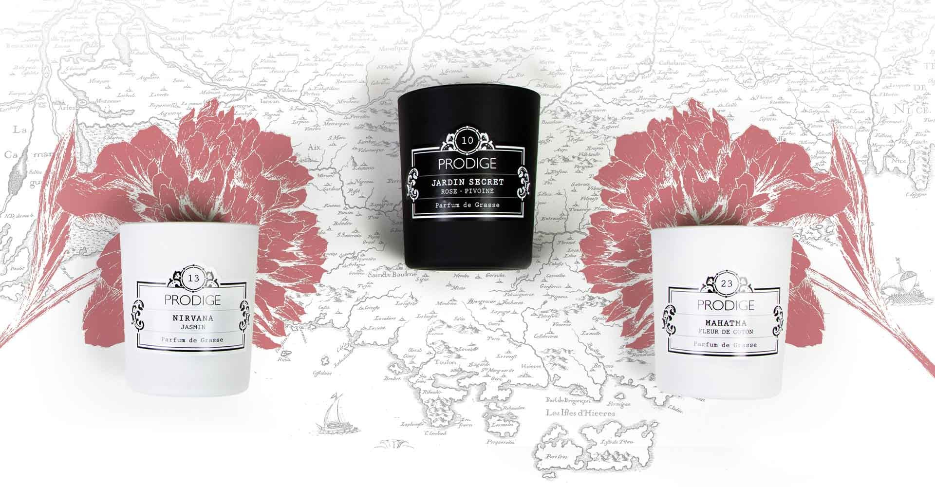 PRODIGE Scented Candles